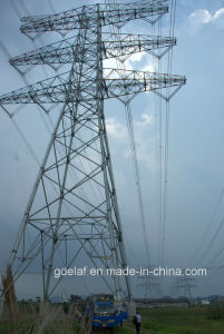 500kv Steel Tubular Transmission Tower