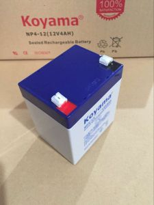 12V 4ah Lead Acid AGM Battery for Security, Scooter pictures & photos