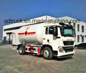 LPG dispensing truck, LPG Gas Refilling Truck, Refill LPG Tanker Truck pictures & photos