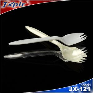 FDA Certification Food Grade Reusable Plastic Spork pictures & photos