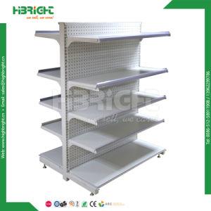 Supermarket Single Sided Display Shelf Gondolas pictures & photos