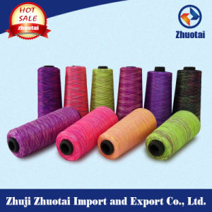 Multi Colour Space Dyed Polyester Yarn pictures & photos