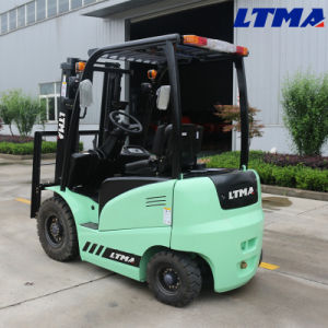 China 2 Ton Mini Battery Forklift Truck for Sale pictures & photos