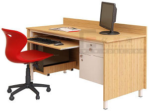 Customized School Furniture Wooden Students Teacher Computer Table Desk pictures & photos