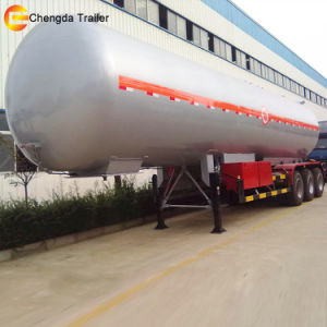 LPG Gas Storage Tank Semi Trailer for Sale pictures & photos