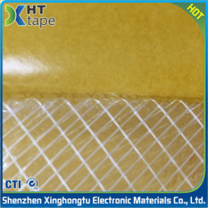 Super Sticky Hot Melt Adhesive Double Sided Mesh Tape pictures & photos