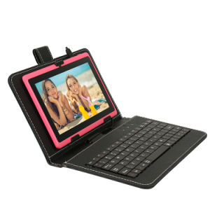 MID OEM 7 Inch Tablet with Wired Keyboard Case pictures & photos
