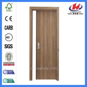 Solid Wood Interior HDF Molded Veneer Door (JHK-FC01) pictures & photos