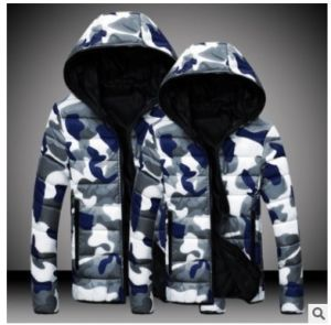 Design High Quality Camo Down Jacket for Men pictures & photos
