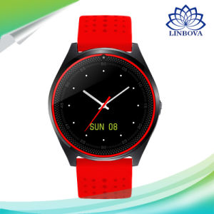 OLED Screen V9 Smart Watch with 1.22inch Round Shape Display pictures & photos