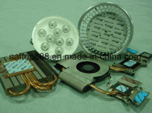 Ultra Thin Silicone Insulator Pad 3.5W for LED Lighting No MOQ RoHS Heattink Gasket ISO Factory pictures & photos