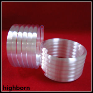 Transparent Helical Quartz Glass Tube Supplier pictures & photos