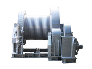 Electro-Hydraulic Power Pack Marine Mooring Winch 1000kn pictures & photos