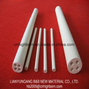 2-4 Holes Magnesia Ceramic Insulating Rod for Heating Element pictures & photos