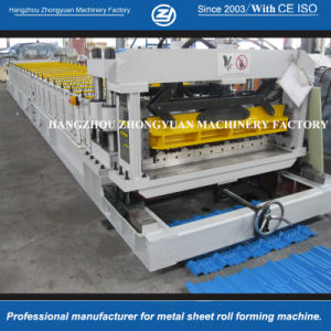 Roofing Glazed Step Tile Rolling Forming Machine pictures & photos