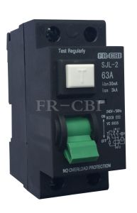 Sjl-2 Earth Leakage Circuit Breaker-MCB-Circuit Breaker pictures & photos