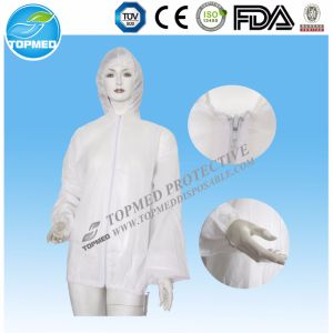 Disposable Microporous Film / Tyvek Coverall with Blue Bond pictures & photos