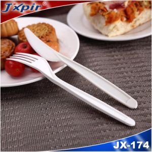 100% Compostable Biodegradable Flatware Spoon, Fork and Knife pictures & photos