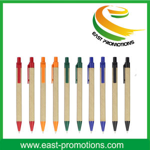 Eco Friendly Recycle Paper Ballpen for Promotional pictures & photos