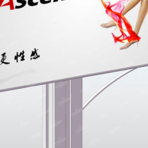 Street Double Sided Backlit Billboard Outdoor LED Mupi Unipole pictures & photos
