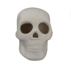 Ceramic White Skull Halloween Decoration pictures & photos