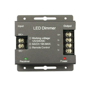 Iron Shell RF 11 Keys LED Dimmer Switch pictures & photos
