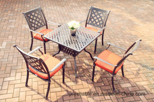 Popular Garden Dining Sets Cast Aluminum Furniture pictures & photos