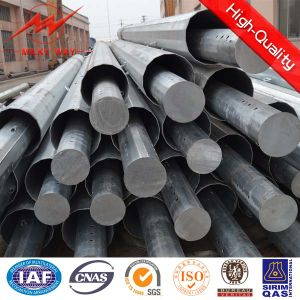 Best Quality Single Tube Transmission Steel Pole pictures & photos