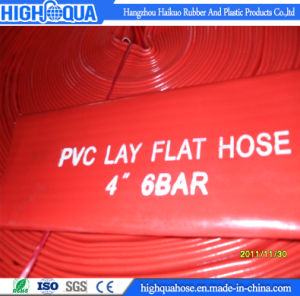 Heavy Duty High Pressure PVC Layflat Hose pictures & photos