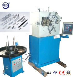 Automatic PLC Metal Wire Conical Compression Spring Coiling Machine pictures & photos