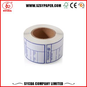 Sticker Thermal Paper Roll Self Adhesive Label Paper pictures & photos
