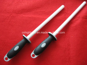 High Quality Alumina Ceramic Knife Sharpener Rod pictures & photos