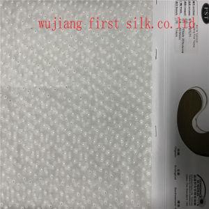 Silk Viscose Jacquard Fabric, Silk Viscose Satin Jacquard Fabric pictures & photos