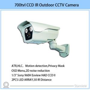 700tvl LED Array IR Bullet CCTV Security CCD Camera pictures & photos