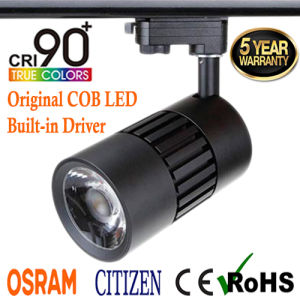 15W 95ra+ LED Tracklight Osram Driver with 5 Years Warranty Factory Price pictures & photos