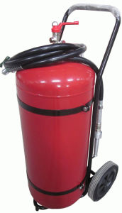 25kg to 100kg Wheeled ABC Bc Dry Powder Fire Extinguishers pictures & photos