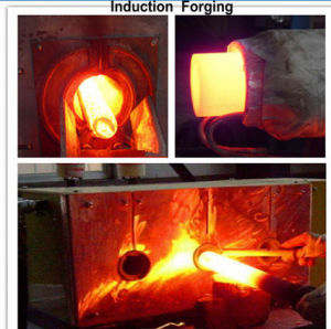 Medium Frequency Forging Furnace Whole Rod Hot Forging Furnace (GMF) pictures & photos