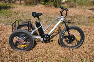 Fat Tire 3wheels Electric Trike for Elder pictures & photos