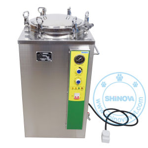 50L Veterinary Vertical Pressure Steam Sterilizer (MS-V50) pictures & photos