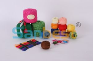 100% Cotton Embroidery Thread for Cross Stitch pictures & photos