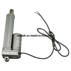 24V Linear Actuator IP65 150mm Stroke 12/24V DC Motor, Tubular Mini Electric Linear Actuator pictures & photos