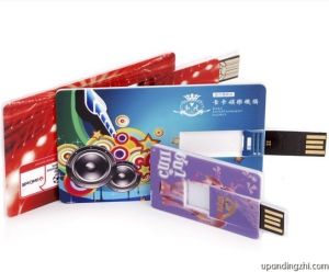 Credit Card USB Stick with Full Color Printing pictures & photos