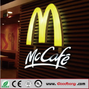 LED Acrylic Material Outdoor Sign Board pictures & photos