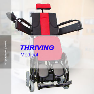 Standing and Lying Electric Wheelchair pictures & photos