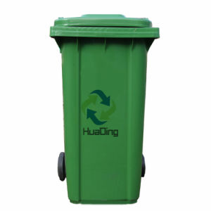 240L Plastic Rubbish Bin Rubber for Outdoor pictures & photos
