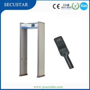 Security Gate with LED Alarm Light on Both of Door Sides pictures & photos
