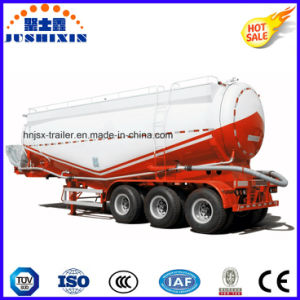 3 Axle 38cbm Bulk Cement Transport Tank Truck Semi-Trailer pictures & photos