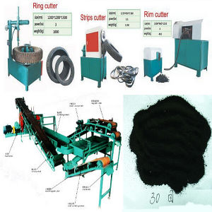 Scrap Tire Recycling Machine pictures & photos