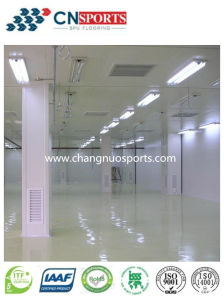 Eco-Friendly Simple Construction Indoor Factory Flooring with Low-Cost pictures & photos