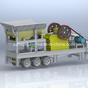 Small Scale Crusher Jaw Mobile Type Crushing Plant pictures & photos